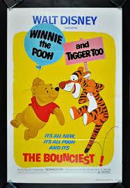 Winnie The Pooh Photo Album Winnie The Pooh And Tigger Too 1974 Original One Sheet Movie