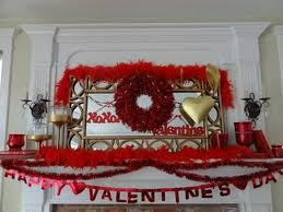 Valentine S Day Home Decorations Ideas by Valentines Day Decoration Ideas Fireplace Mantel Decorations On