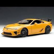 orange lexus lfa lexus lfa nurburgring package orange autoart