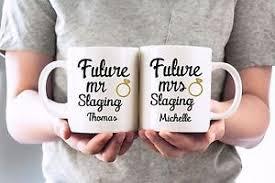 wedding gift mugs mr and mrs coffee mugs engagement mug set personalized