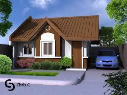 Interior Design Small House Philippines Simple House Design Pleasing Small House Design 2015014 View03