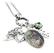 jewelry personalized cat photo cat jewelry personalized necklace memorial jewelry