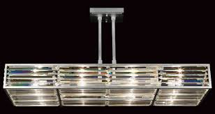 Rectangular Chandelier With Crystals Art Lamps 811740 Crystal Enchantment Rectangular Chandelier