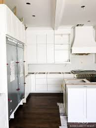 elegant white kitchen remodel before during and after randi