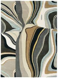 Large Modern Rug Estella Curve 83801 Rug From The Modern Rug Masters Collection At