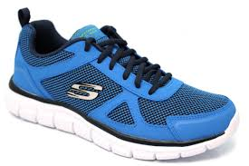 skechers track bucolo memory foam trainers mr shoes