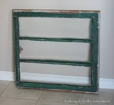 the easiest way to customize an antique window making it in the