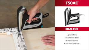Electric Staple Gun For Upholstery Arrow U0027s Professional Electric Staple Gun U0026 Nailer Youtube
