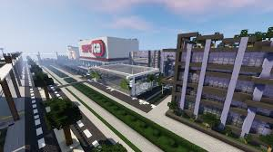 Minecraft City Maps Audia City