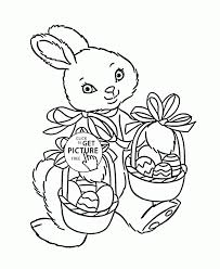 bunny coloring pages best for kids printables simple color page