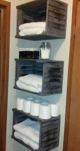 Towel Storage For Bathroom by Bathroom Towel Storage Rustic Bathrooms Pinterest Bathroom