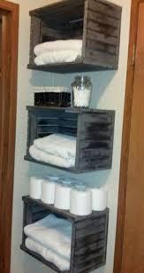 Towel Storage For Bathroom by Bathroom Towel Storage Rustic Bathrooms Pinterest Bathroom