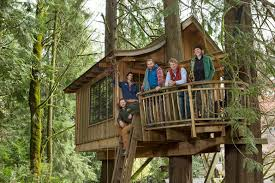 I Have Built A Treehouse - your childhood dream home the extreme treehouses of u201ctreehouse master