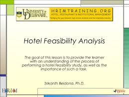 hotel feasibility studies