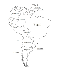 North And South America Map Blank by Printable Blank World Map Template For Students And Kids Maps