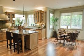 kitchen and dining room open floor plan home design ideas
