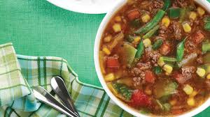 country style beef u0026 green pepper soup clean eating magazine