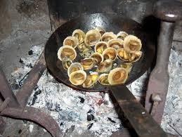 cuisiner les berniques patelles à la braise cuisine de la mer