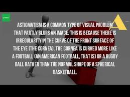 Astigmatism Night Blindness What Visual Problem Is Caused By Astigmatism Youtube