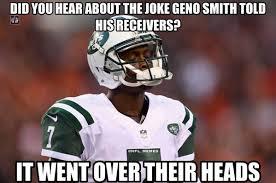 Geno Smith Memes - nfl memes on twitter geno smith problems http t co e2kbcoprvj