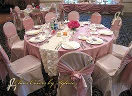 dusty rose table runner chicago table linens for rental in dusty rose in the lamour satin fabric