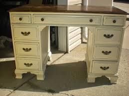White Distressed Desk by Shabby 2 Chic Design September 2014