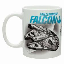 Coffee Mug Images Star Wars Episode 7 The Force Awakens Millennium Falcon Coffee