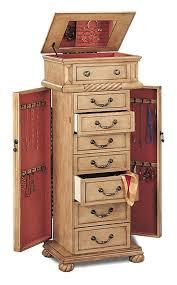 jewelry armoire oak finish jewelry armoire jewelry armoire pinterest armoires storage