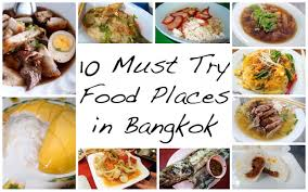 Singapore Food Guide 25 Must Eat Dishes U0026 Where To Try Them 10 Must Try Amazing Food Places In Bangkok While Shopping
