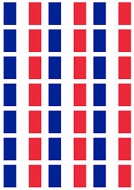 France Flag Images France Flag Stickers 21 Per Sheet