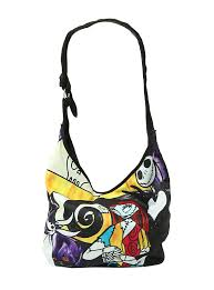 the nightmare before sally stained glass hobo bag