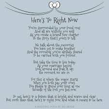 here s to right now wedding poem by poet ms moem msmoem