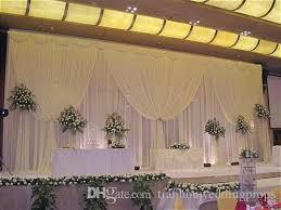 wedding backdrop design singapore fancy 3x6 meter silk wedding stage backdrops decoration