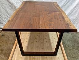 black walnut table for sale live edge walnut table icenakrub
