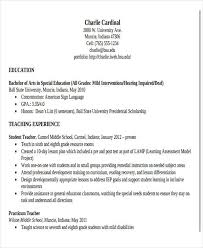 Physical Education Teacher Resume Sample by 28 Teacher Resume Templates Download Free U0026 Premium Templates