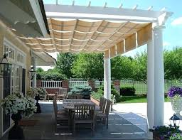White Vinyl Pergola by White Vinyl Pergola With Canopy Diy Pergola With Canopy Vinyl