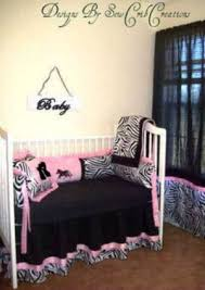 Zebra Print Crib Bedding Sets Custom Baby Bedding In Beautiful Fabrics Colors And Styles For