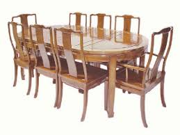 Extending Dining Table And 8 Chairs Oval Chinese Dining Table With 8 Chairs Plain Mandarin Design