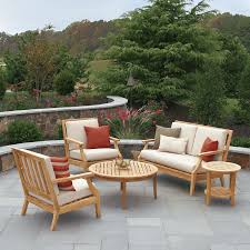 Wood Patio Chairs by Teak Wood Patio Furniture Design With Small Round Table Nytexas
