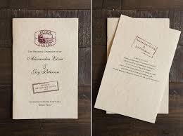 Custom Wedding Programs Custom Wedding Invitations U0026 Stationery Tips For Brides