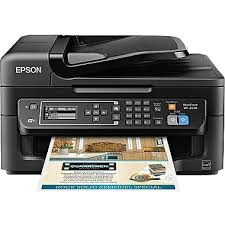 Print Resume At Staples Epson Workforce Wf 2630 Color Inkjet All In One Printer New