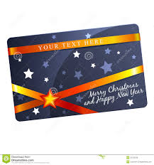 christmas gift card template royalty free stock photos image