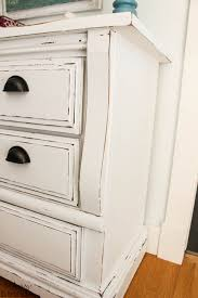 white distressed dresser makeover so much better with age