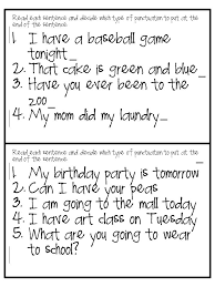 the fabulous first grade crazy about punctuation freebies
