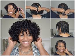 easy chunky flat twist out tutorial for natural hair curlynikki