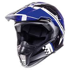 mt helmets synchrony endurance offroad white blue black mt helmets