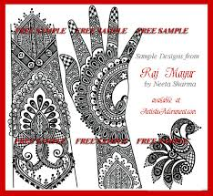 sample page free indian bridal designs hair and beauty henna