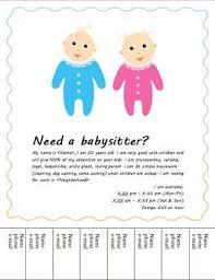 Babysitting Resume Babysitter Resume Template Unforgettable Babysitter Resume