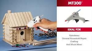 Glue For Upholstery The Mt300 Mini Glue Gun From Arrow Fastener Youtube