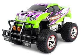 rc monster jam trucks for sale amazon com v thunder pickup big remote control rc truck 1 14